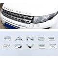 Nuevo estilo del coche del capó del motor cubierta de la etiqueta engomada del emblema del coche 3D cartas deportes estilo caso apto para el range rover coche accesorios 2016