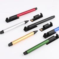 TERCEL USB memories touch Pen 8GB school supplies Creative Multi functional pen Mobile phone multi pen stationery Innovation