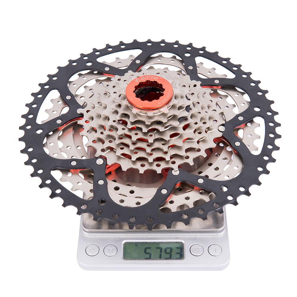 MTB <font><b>11Speed</b></font> SL Cassette 11s 11-50T Wide Ratio UltraLight Freewheel Mountain Bike Bicycle Parts for <font><b>sram</b></font> X1 XO1 XX1 m9000 Cheap image