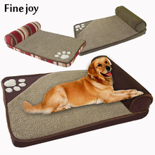 Fine Joy  Brown Dog Square Pillow For  Dogs