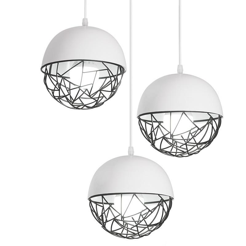 Фотография 1/3 Heads Nordic Simple Restaurant Chandelier Coffee Shop Wind Chimes Lamp Modern Living Room Lamp Bar Light Free Shipping
