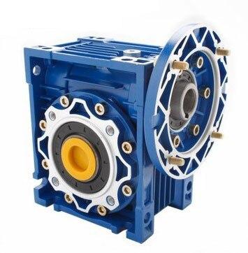 90 grad Getriebe NMRV030 Wurm Getriebe Geschwindigkeit Minderer 5:1-80: 1 für 9mm oder 11mm eingang welle RV30 Wurm Getriebe