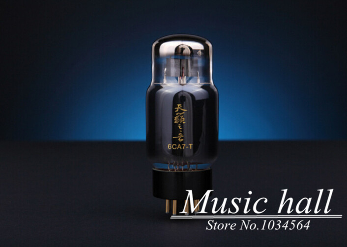 Douk Audio Shuguang Natural Sound Premium 6CA7-T (replacing EL34B 6CA7-Z) Vacuum Tube 1PCS for tube amplifier Free Shipping music hall shuguang natural sound 12ax7 t audio vacuum tube valve with gold pins 1pcs for tube amplifier