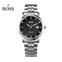 BOSS Germany watches men luxury brand Senator 21 jewels MIYOTA CO JAPAN automatic self wind mechanical