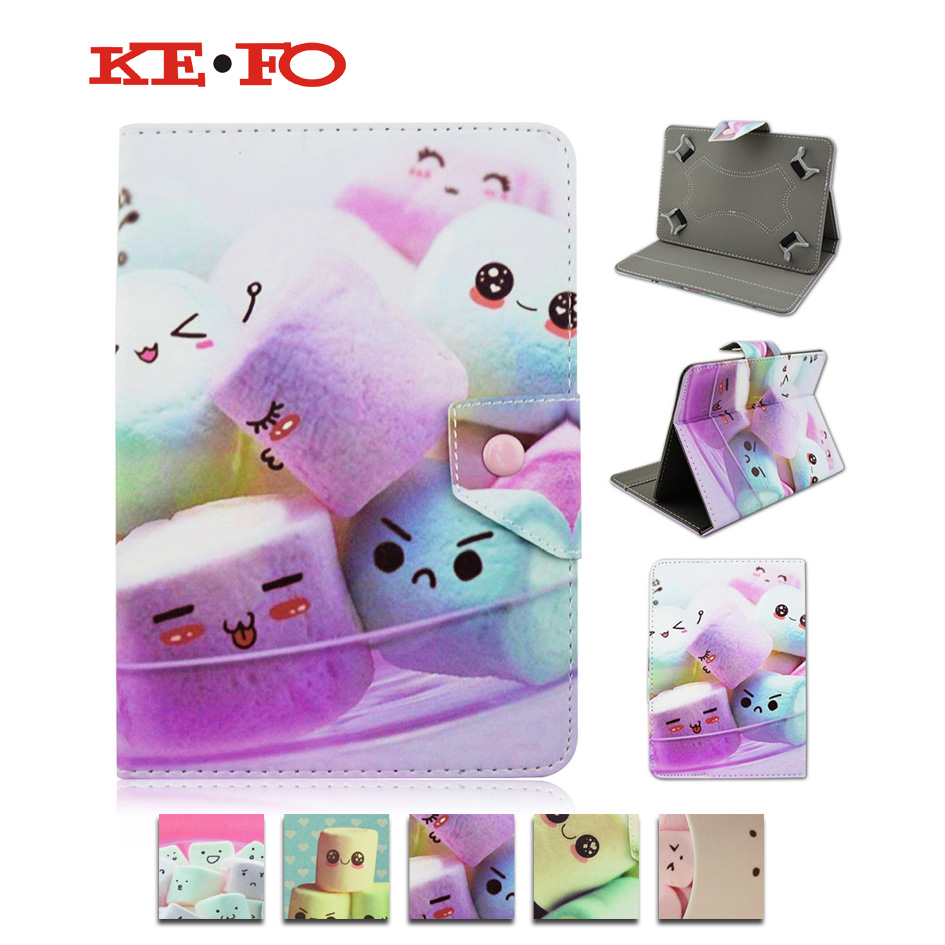 Cotton candy PU Leather Case Stand Cover For Samsung Galaxy TAB 2 10.1 P5100 P5110 P7510 10 10.1 inch Universal Android Tablet