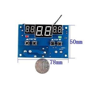 Image 1 - XH W1401 inteligentny wyświetlacz cyfrowy regulator temperatury górny dolny limit ustawienie trzy okna synchroniczny wyświetlacz