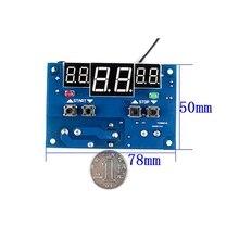 XH W1401 интеллектуальный цифровой дисплей регулятор температуры верхний нижний предел Настройка трех окон синхронный дисплей
