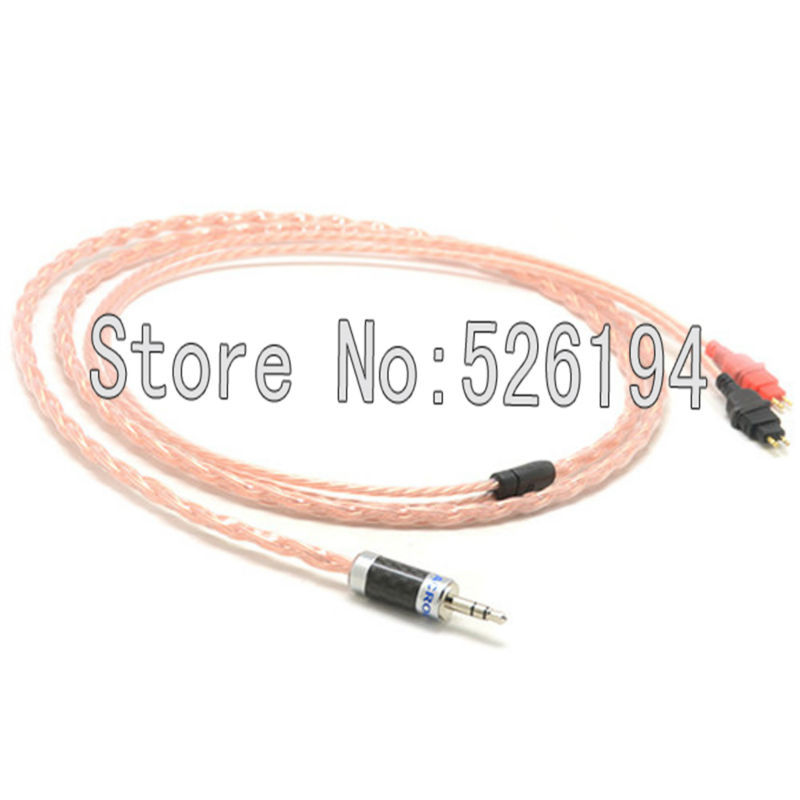 Free shipping 5N pure copper HD600, HD650, HD580, HD525, HD565 Upgrade Cable / Headphones Replacement Cord free shipping 4pin balanced diy 5n pure copper plated headphone upgrade cable for hd580 hd600 hd650