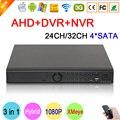 HI3531A XMeye 32CH, 24CH 4 SATA 1080 P/1080N/960 P/720 P/960 H 3 в 1 Гибридный NVR AHD DVR Наблюдения Видеорегистратор Бесплатная Доставка
