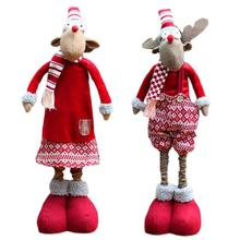 Christmas Decorations For Home Christmas Telescopic Rod Elk Ornaments Decorations Christmas Gift Decor Children Favorite 15