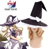 High Q Unisex Anime Touhou Project Kirisame Marisa Costumes Accessories Hats