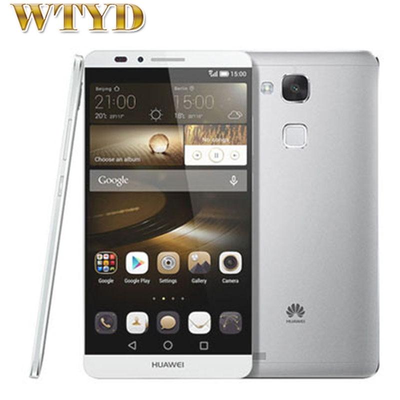 For Huawei Ascend Mate 7 font b Smartphone b font ROM 16GB RAM 2GB LTE 4G