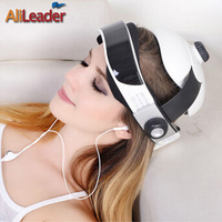 AliLeader Electric Head Massage Acupuncture Points Device Brain Massage Vibrating Massager Machine Wireless Or US EU Plug
