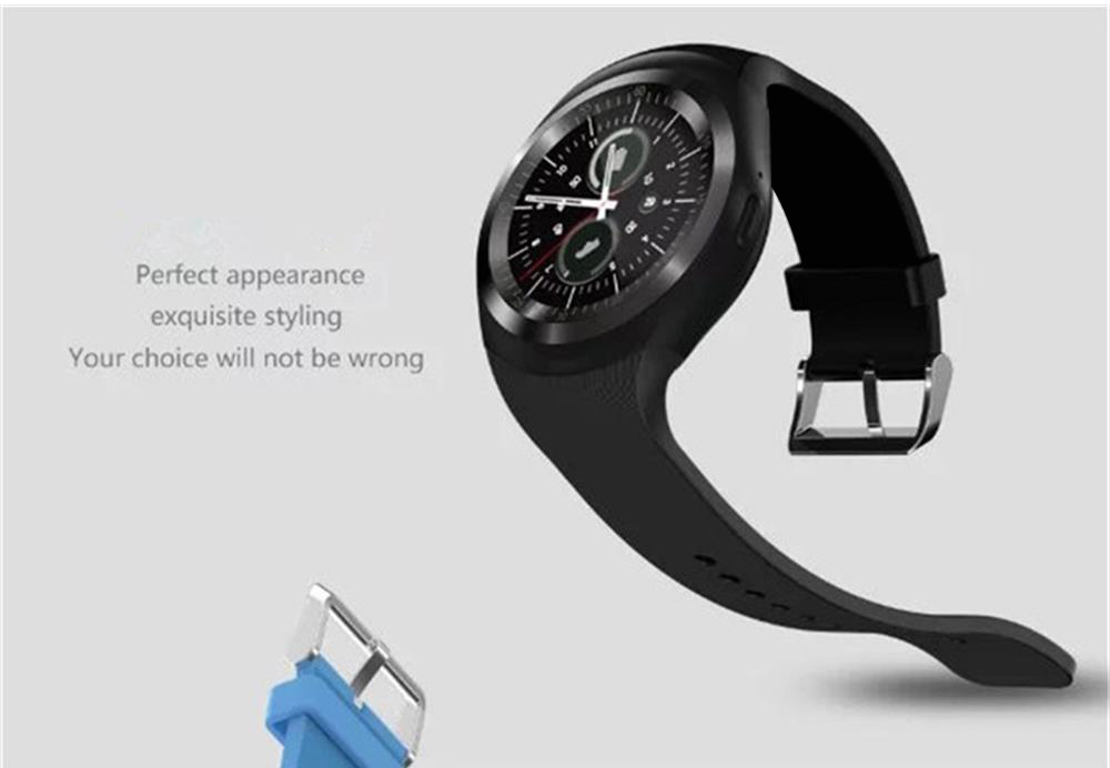 696 Bluetooth Y1 Smart Watch Relogio Android SmartWatch Phone Call GSM Sim Remote Camera Information Display Sports Pedometer 19