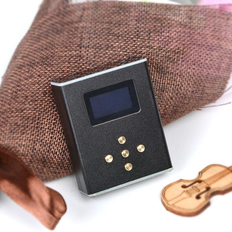 Nouveau Zishan Z3 DIY MP3 HIFI DSD Professionnel MP3 HIFI Lecteur de Musique de Soutien Casque Amplificateur DAC AK4490 DSD256 Avec OLED