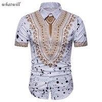 Nueva moda 3d africano ropa hip hop ropa de África dashiki vestido impreso  Camisas casual vestidos 4964d56feeb