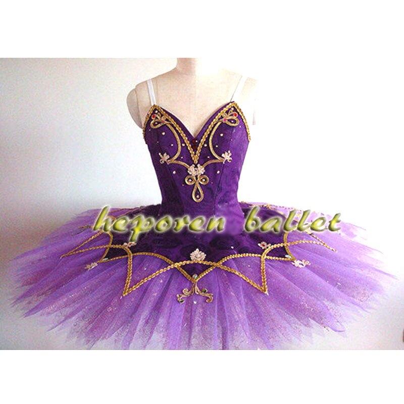 Высокое качество, профессиональные индивидуальные фиолетовые балет «Спящая красавица», платья для женщин и детей, фиолетовая Сладкая слив