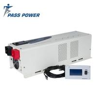 ЖК дисплей Дисплей 6000 Вт 24 В до 220 В решетки солнечных инвертор Чистая синусоида Инвертор