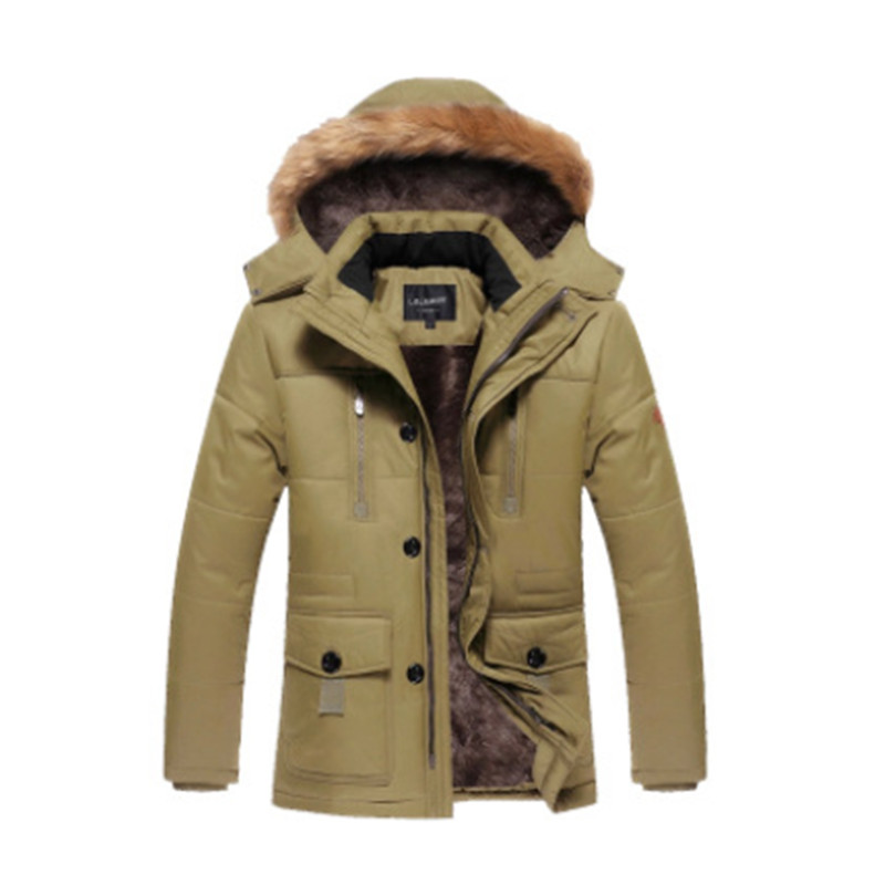 2017 New Winter Jacket Men Warm Coats Fashion Casual Parkas Men Thickening Coat For Winter Cotton-Padded children winter coats jacket baby boys warm outerwear thickening outdoors kids snow proof coat parkas cotton padded clothes