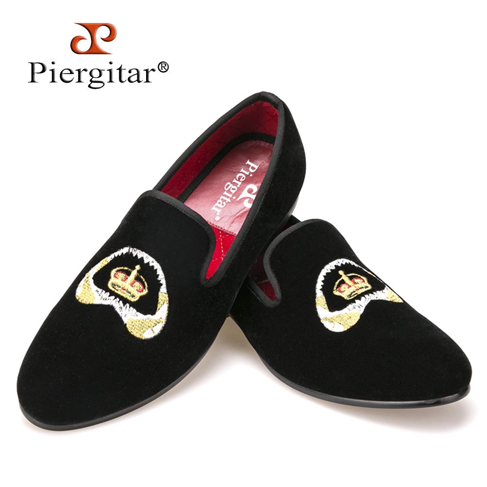 Special embroidery Plus Size Men Velvet Shoes Men Loafers Smoking Slipper Men Flats Size US 4-17 Free shipping 2017 velvet men loafers with copper buckle smoking slipper men flats fashion casual size us 6 14 free shipping