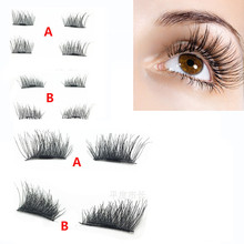 Hot New 3D Magnetic False Eyelashes Reusable False Magnet Lashes Extension Beauty's Favorite soft and comfortable cilios 7.25