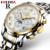 Homens de luxo Relógio Mecânico Automático de Negócios Masculino À Prova D' Água Relogio masculino de Aço Oco Relógios de Pulso Automático Moonphase