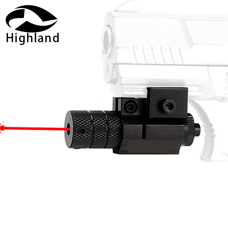 Hunting Pistol/Rifle Red Laser Scope Sight Red Dot Sighter with Picatinny or Dovetail Rail Mount for Rifle scope