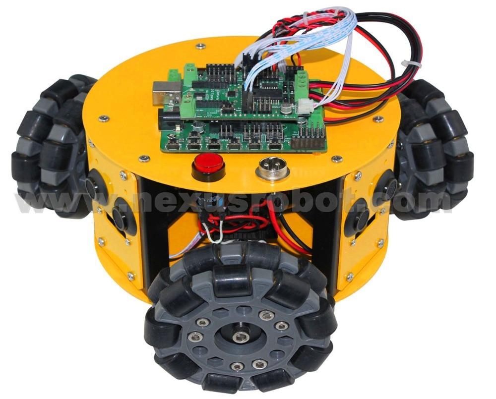 3WD 100mm Omni Wheels Arduino Kit - Escuela y materiales educativos - foto 3
