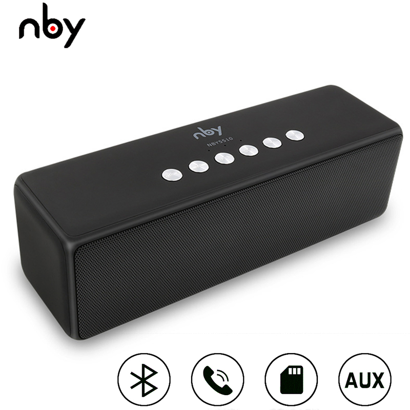 NBY 5510 Portable Bluetooth Speaker Wireless Outdoor Speakers Computer Woofer Loudspeaker 3D Stereo Sound System MP3 Boombox TWS