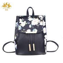 2016 New Bags Washed leather mini women backpack School backpack for teen girls casual backpack mochila feminina