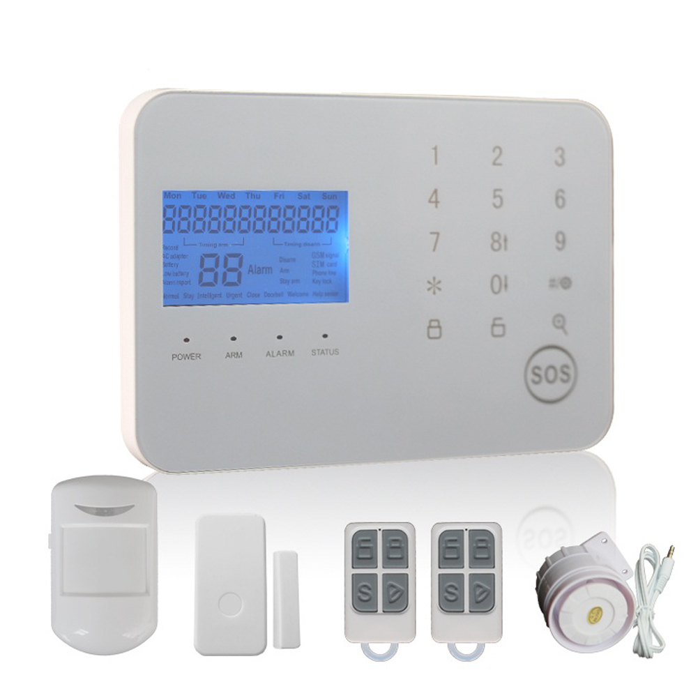 Tocco PSTN/GSM Dual Rete Intelligente Antifurto Allarme WL JT 99CS Wireless GSM Sistema di Allarme per Uso di Sicurezza Domestica - 5