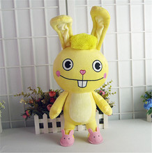 NEW Anime Cuddles Doll Toys happy tree friends Soft rabbit Plush Pillow Cosplay Gift