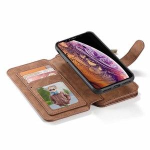 Image 4 - 電話フリップケースiphone 12ミニ11 pro x xr xs最大5 s e 2020 6 s 7 8プラスcoque高級革保護カバーアクセサリー