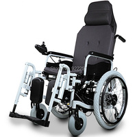 BZ 6103 Quality Folded And Safety Electric Footrest Power High Back Wheelchair For Disabled And Elderly