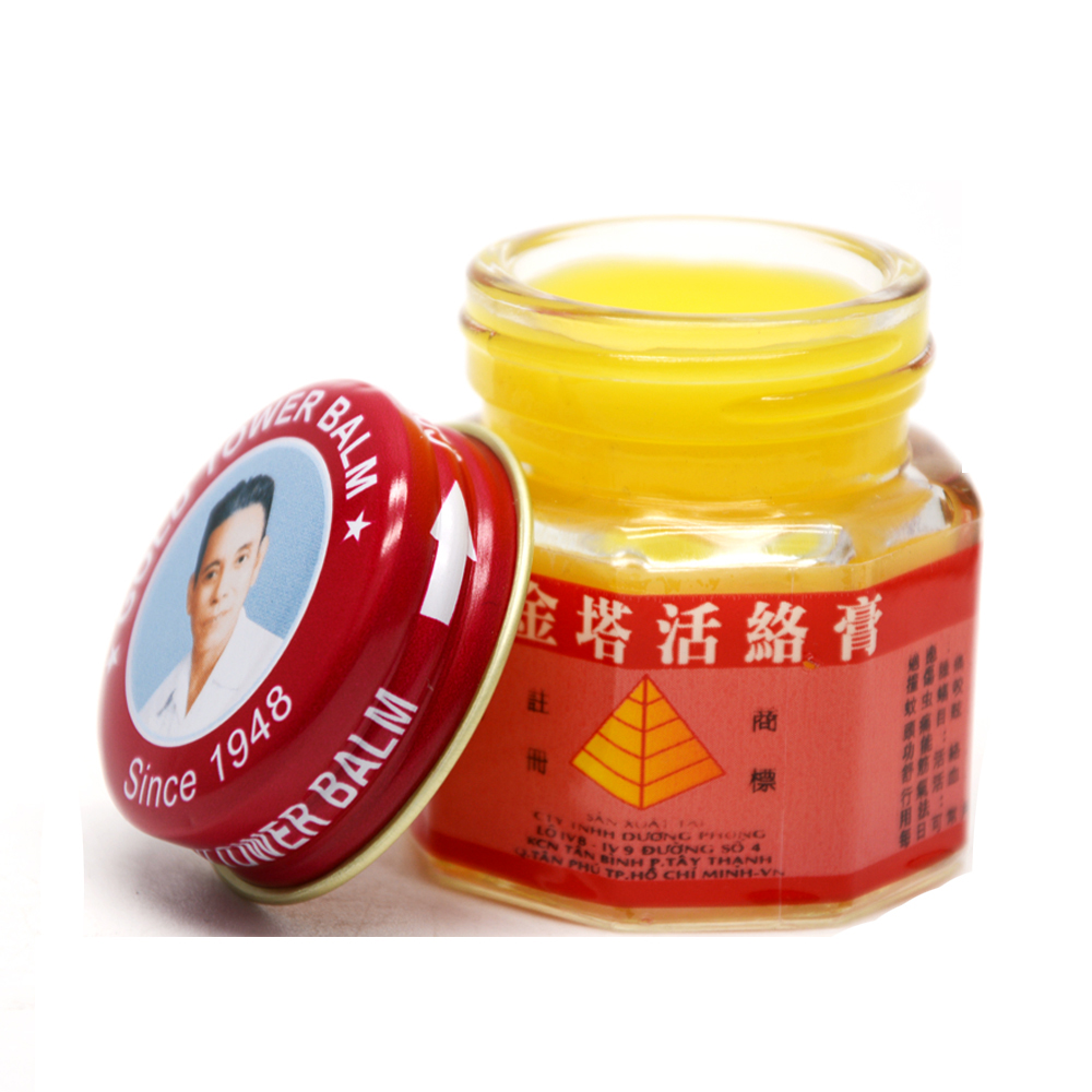 100% Original Vietnam Gold Tower Balm Ointment Pain Relievins
