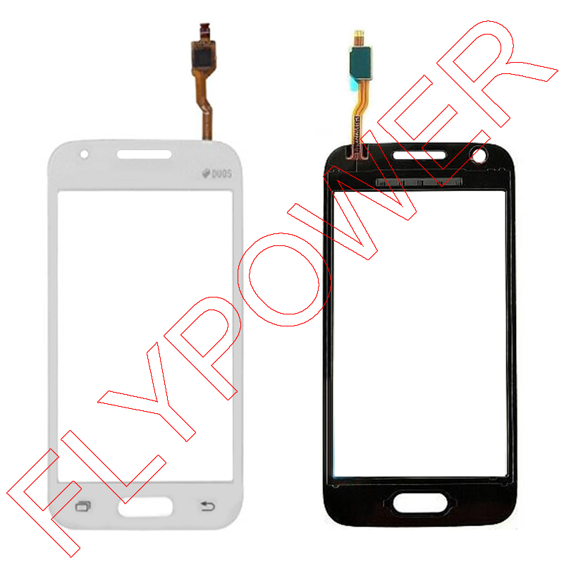 100% warranty Digitizer Touch Screen Outer Touch Panel Replacement For  Samsung GALAXY SM G318H G318h G318 in black and white-in Mobile Phone Touch