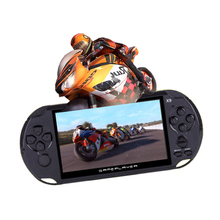 X9 Portable Game Player 5.0 Large Screen 8GB Game Console Handheld Machine Support TV Out Put With MP3/Movie Camera