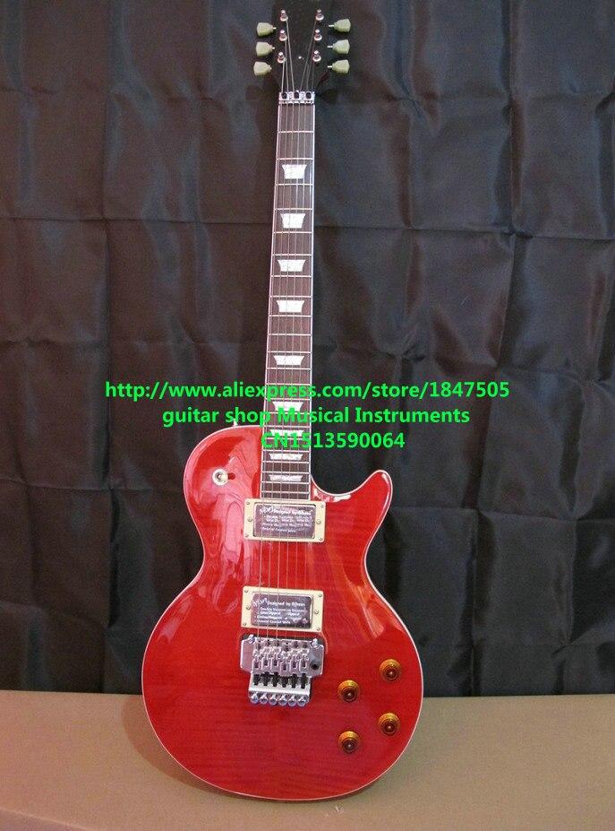 Новое Прибытие Custom Shop Axcess Стандартный Электрическая Гитара В Красный Топ Гитары Бесплатная Доставка