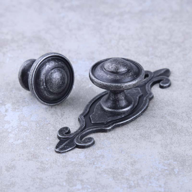 rustico retro style furniture knobs  vintage distress antique iron drawer cabinet knobs pulls dresser door handles knobs салатник rustico малый 1179930