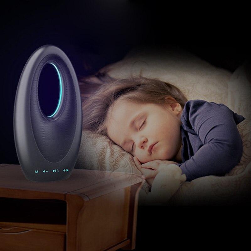 DOITOP Mini Dubai voilier Bluetooth haut-parleur sans fil extérieur son intelligent tactile Radio Portable TF carte stéréo hypnose LED basse