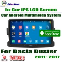 For Dacia Duster 2011~2017 GPS Navigation Carplayer Android System RockChip PX5 1080P 8 HD IPS LCD Screen Radio Head Unit