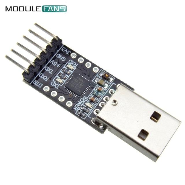 CP2102 USB 2.0 для TTL UART модуля, 6-контактный последовательный преобразователь STC вместо FT232 модуля