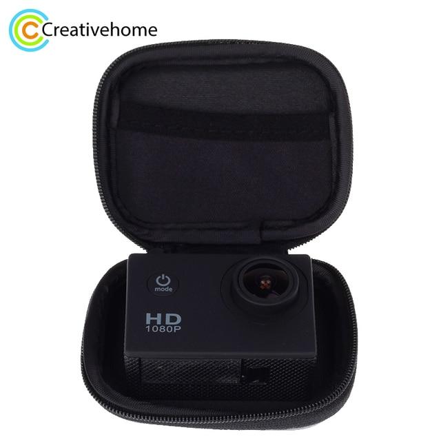 US $3 4 |For Xiaomi Yi 4K 1080p Mini Box Xiaoyi Bag Black Camera Case For  Gopro Hero 5 4 Session 3 SJCAM Sj4000 m1 Yi Accessories-in Camera/Video  Bags