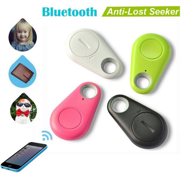 Smart GPS Tracker Key Finder Locator With Wireless Bluetooh 4.0 Home Security Anti Lost Alarm Sensor For Kids Wallet Key