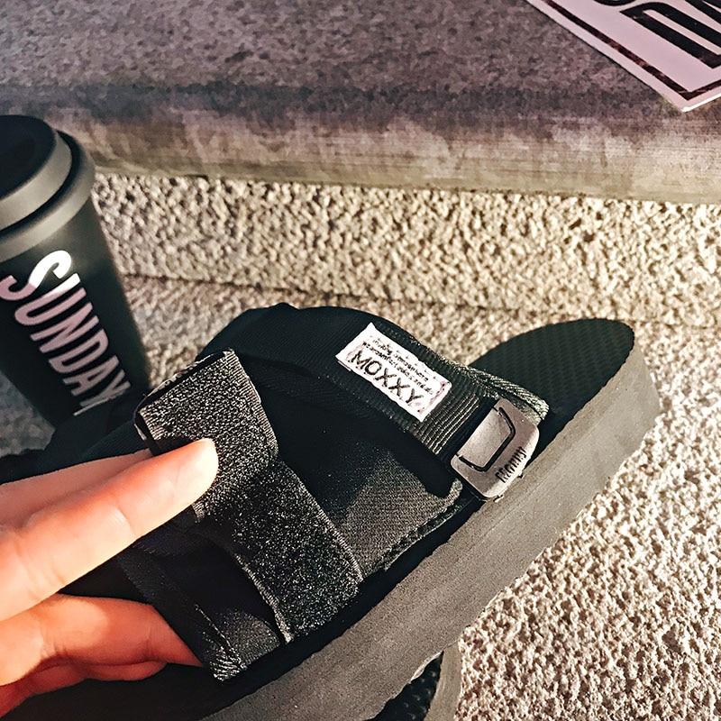 Femmes Occasionnels Chaussures Noir 2018 Moxxy Plage Taille Flip Printemps Sur D'été Glissement La Plus Conception Pantoufles Nouvelle Flop Couple Originale gxf6w8zq