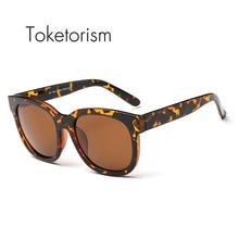 Toketorism fashion Plastic Titanium men women TR90 frame sunglasses vintage polarized uv400 retro eyewear 3038