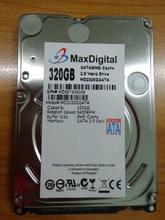 แบรนด์ใหม่2.5 inchฮาร์ดดิสก์320กิกะไบต์5400รอบต่อนาที8เมตรBuff SATAภายในฮาร์ดดิสก์ไดรฟ์สำหรับแล็ปท็อปโน๊ตบุ๊คMaxDigital/MD320GB SATA 2.5นิ้ว