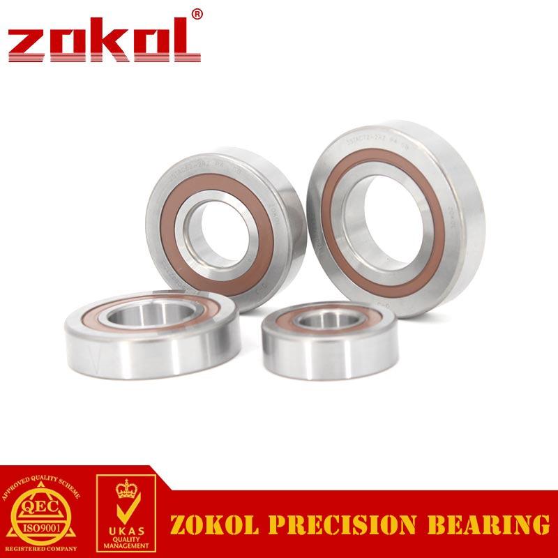 ZOKOL bearing 30TAC72 2RZ P4 Universal matching 30TAC72BSUC10PN7B Ball Screw Support Ball Bearing 30*72*15mm
