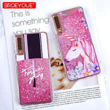 Glitter Liquid Quicksand Phone Case For Samsung Galaxy A3 A5 2017 S8 Plus Note 9 A7 2018 J3 J7 2017 Case For Galaxy J5 2017 Case(China)