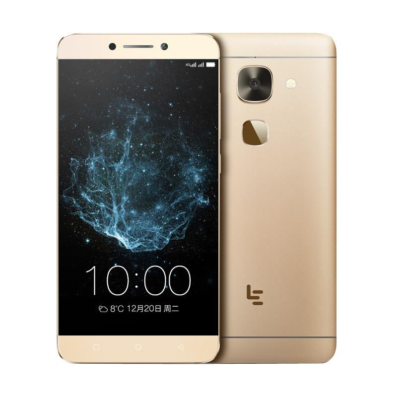 Letv X626 LeEco Le S3 4G RAM Telefone Móvel FDD LTE Deca Núcleo 2.3G Dual SIM 5.5 FHD FingerPrint 32G ROM 21 M Impressão Digital